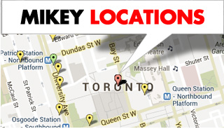 Mikey Defibrillator Locations