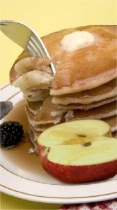 Heart Healthy Eating - Apple Pancakes