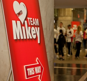 Join Mikey for The Walk Of Life 2011