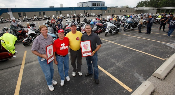 The 6th Annual Canada's 911 Foundation Charity Ride Raises $32,000 for The Mikey Network