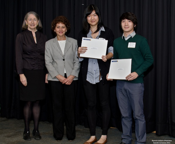 2011 Mikey Network Award In Nutritional Sciences