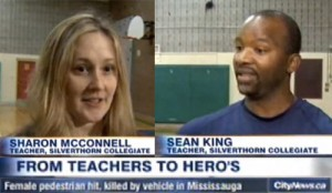 Hero teachers save student's life with a MIKEY