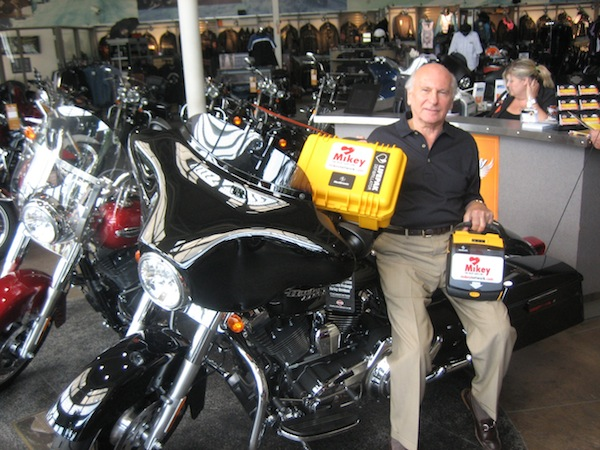 Morty Henkle Places MIKEY at Davies Harley Davidson