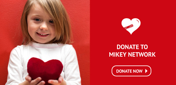 Donate to The Mikey Network