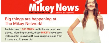 Catch Up With All the Mikey Network News With Our Spring 2016 Newsletter