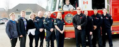 Teen Reunited With First Responders That Saved His Life