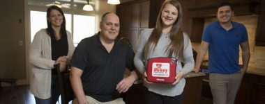 Portable defibrillators called 'MIKEYs' are saving young lives