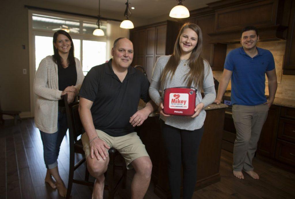Emily Herbert and her family