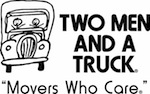 Two Men And A Truck professional movers. The Movers Who Care